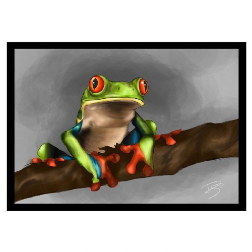 CC Greetings Card Tree Frog
